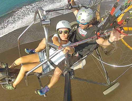 Powered Paragliding Tours